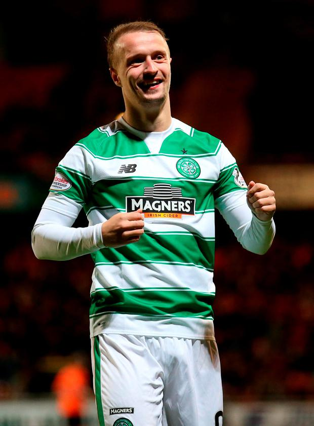 Celtic's Leigh Griffiths Photo: PA