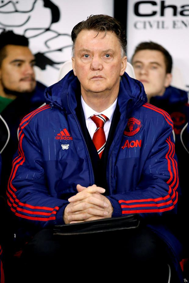 Manchester United manager Louis van Gaal faces another must-win test, this time against Chelsea at Stamford Bridge on Sunday Photo: Reuters