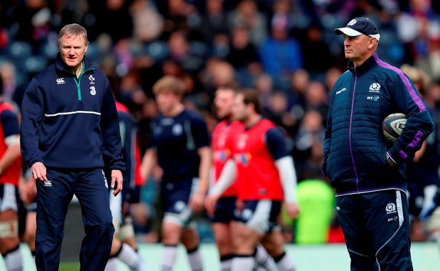 Kiwis Joe Schmidt and Vern Cotter are the best of friends Photo: PA Wire
