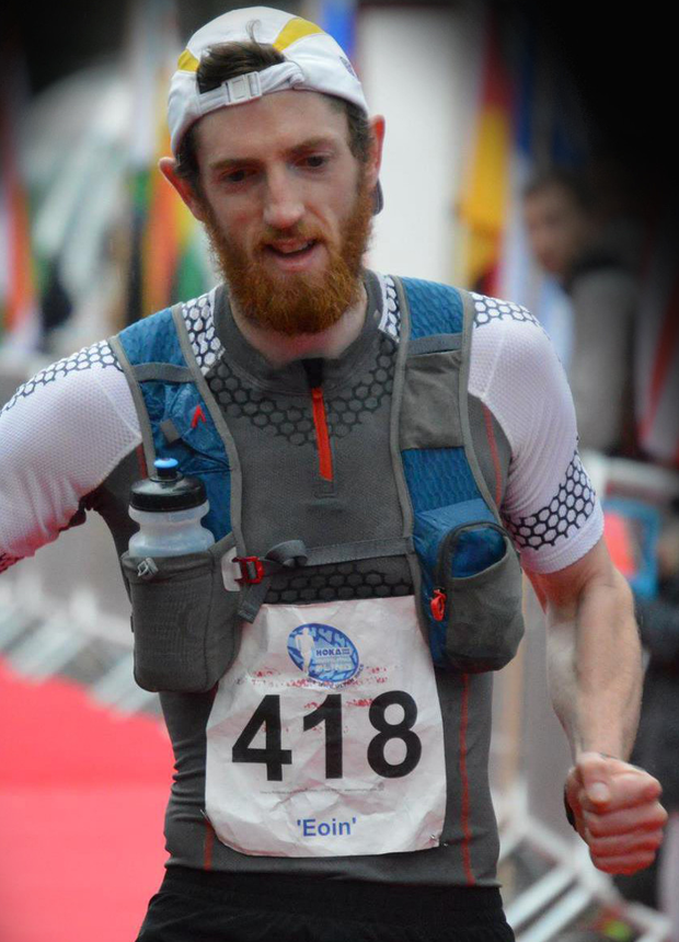Scottish ultra trail champion Eoin Lennon, who claimed victory in the Maurice Mullins Wicklow Way 51km ultra race last Saturday.
