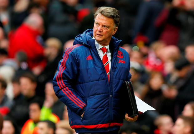 """Van Gaal: """"The situation has not been changed by the defeat of Manchester City. It is the same situation"""" Photo: Reuters"""