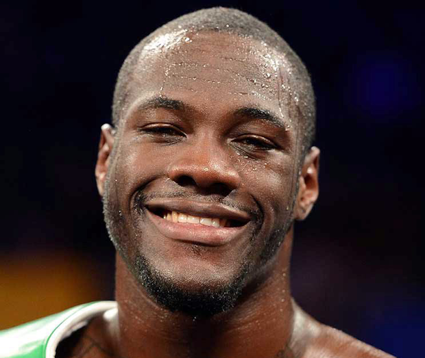 Deontay Wilder. Photo:Images//Golden Boy