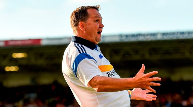 Clare manager Davy Fitzgerald. Photo by Stephen McCarthy/Sportsfile