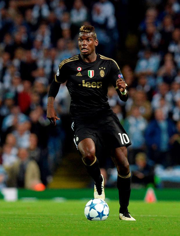 Manchester United manager Jose Mourinho dropped a big hint that the club are about to sign Paul Pogba (above) from Juventus. Photo: PA