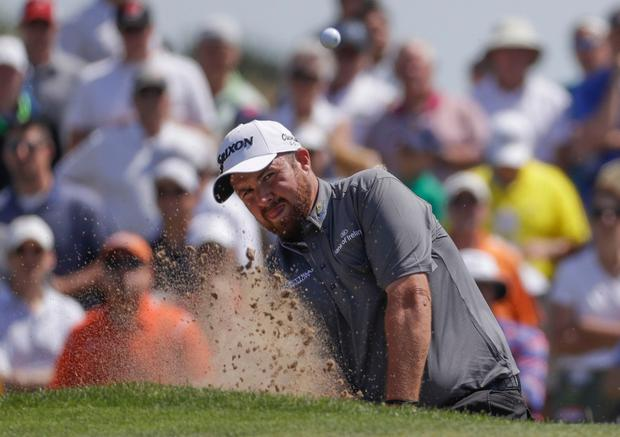 Offaly native Shane Lowry finished with a final round of 73 to finish the US Open on three-over at Erin Hills, Wisconsin. AP