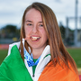 Jade Williams won bronze in the hammer at the EYOF