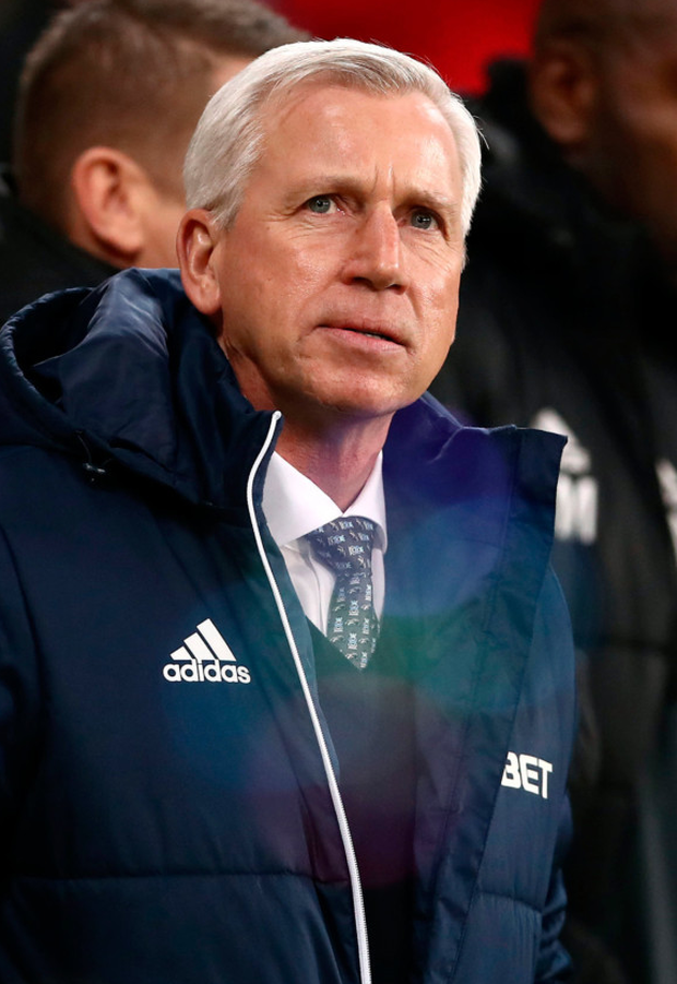 West Brom's Alan Pardew