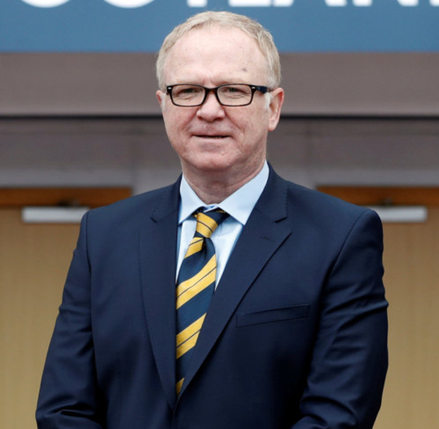 Happy: Alex McLeish