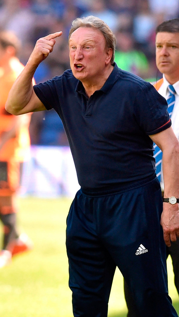 Neil Warnock. Photo: PA
