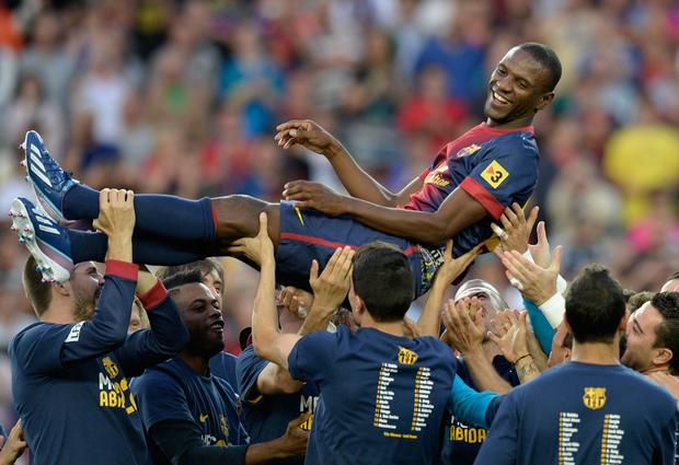 TRANSPLANT: Eric Abidal. Pic: Getty Images