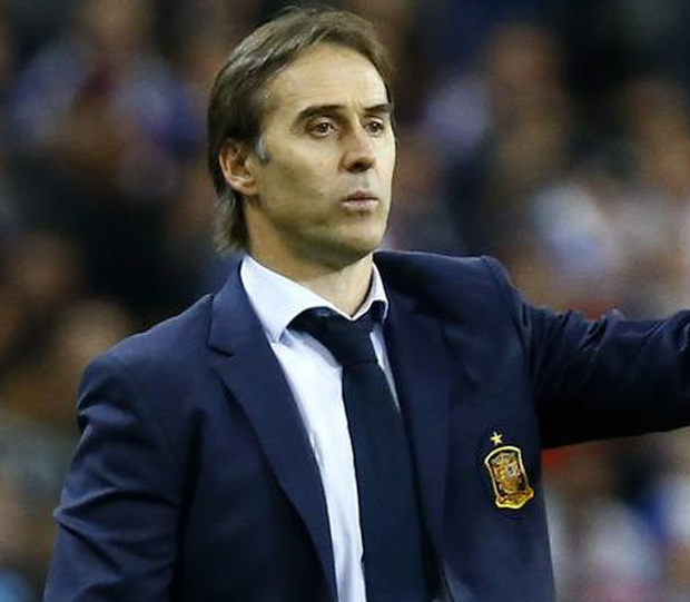 Excited: Julen Lopetegui