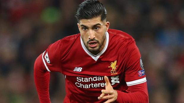 DEPARTURE: Emre Can.
