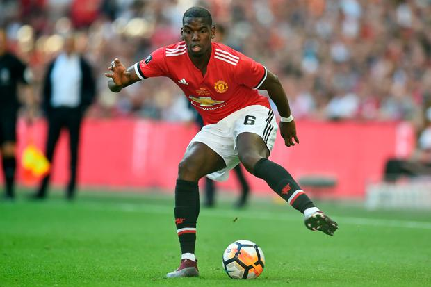 TARGET: Paul Pogba is not for sale. Photo: AFP/Getty Images
