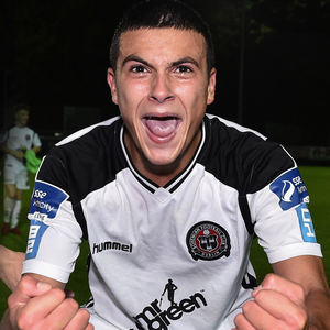 Ali Reghba was star of the show for Bohemians