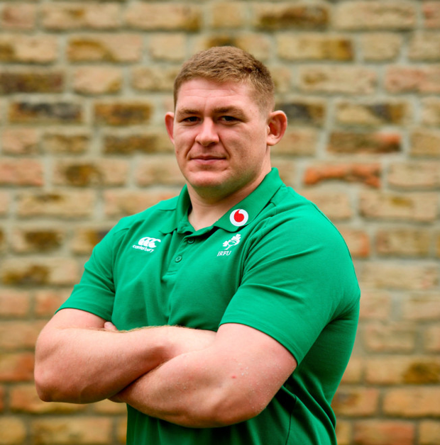 Tadhg Furlong's relaxed attitude outside of rugby couldn't contrast more with how he approaches games. Pic: Sportsfile
