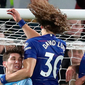 David Luiz heads home Chelsea's second