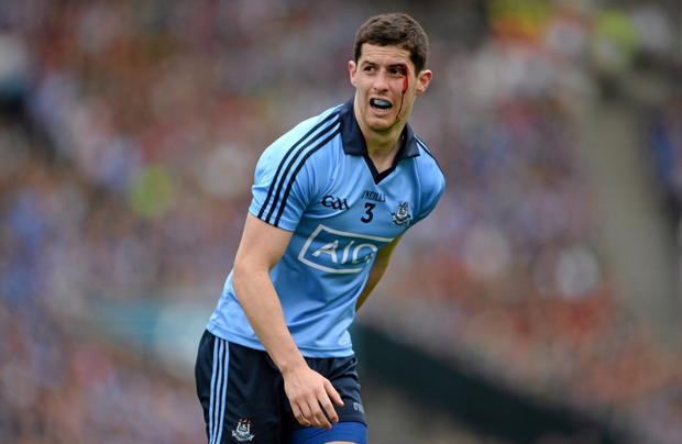 TIMELY RETURN: Former Dublin full-back Rory O'Carroll is back in club action with Kilmacud Crokes. Photo: SPORTSFILE