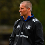 Leinster senior coach Stuart Lancaster at squad training