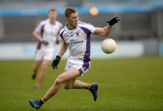 ON TARGET: Paul Mannion in action for Kilmacud Crokes against Ballymun Kickhams during the Dublin SFC clash at Parnell Park