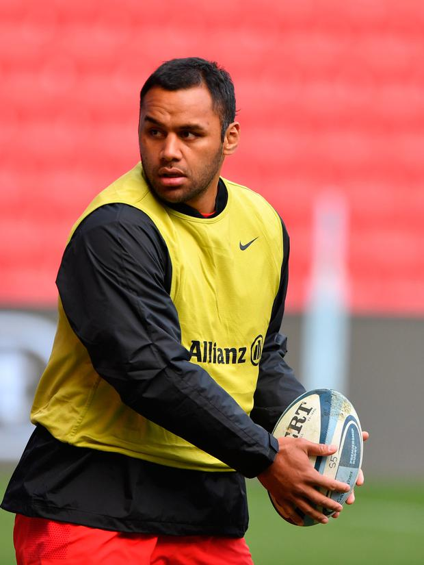THREAT: Billy Vunipola. Pic: PA