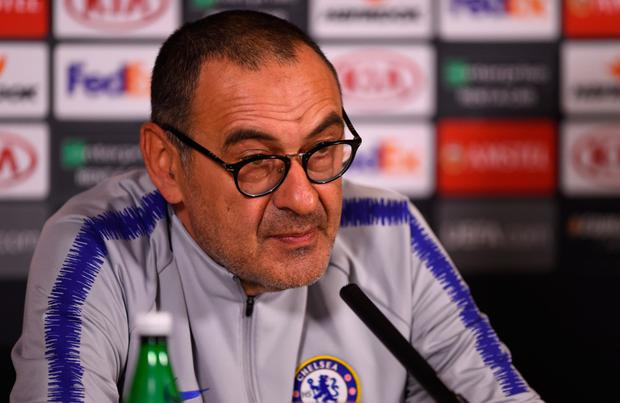 Maurizio Sarri. Photo: Getty Images