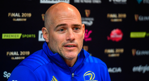CHALLENGE: Leinster backs coach Felipe ContepomI. Photo: SPORTSFILE