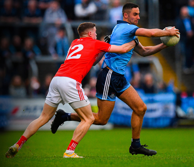 Dublin powerhouse James McCarthy could be utilised at midfield