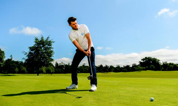 Pictured at the AIG Insurance GUI & ILGU Cups & Shields Launch at Carton House in Maynooth is Kevin McManamon of Dublin