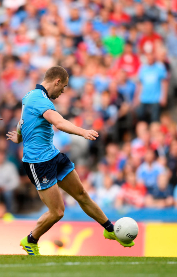 """Jack McCaffrey said last year that Paul Mannion (pictured) used to be like a """"soccer player playing Gaelic"""""""