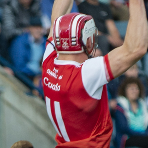 Con O'Callaghan in action for Cuala against Kilmacud Crokes in the Dublin SHC