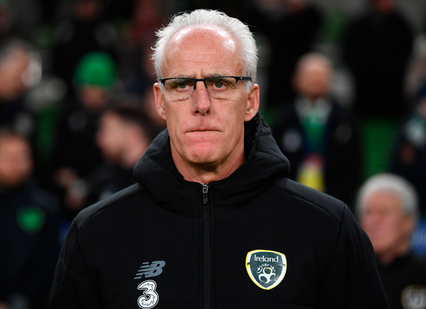 SHOWDOWN: Republic of Ireland manager Mick McCarthy. Pic: Sportsfile