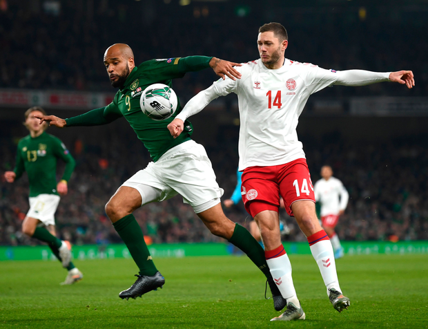 'I was impressed with Sheffield United striker McGoldrick as he played that central striker role and gave me a reminder of what I used to do for Ireland in the distant past.' Photo: SPORTSFILE