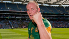 Joe Sheridan celebrates Meath's victory over Dublin in the Leinster SFC clash at Croke Park in 2010