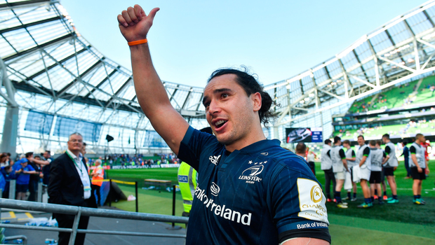 SPECIAL TALENT: James Lowe of Leinster celebrates. Pic: Sportsfile