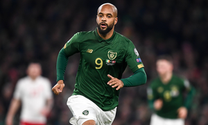 David McGoldrick: Don't expect Kenny to cast him aside just yet but he's by no means a certain starter either. Photo: SPORTSFILE