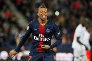 PROJECT: Kylian Mbappe. Pic: Reuters