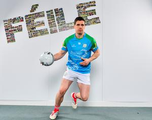 FOCUS: Mayo footballer Lee Keegan at the launch of the 2019 John West Féile at Croke Park in Dublin. Photo: SPORTSFILE
