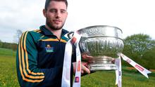Meath footballer Donal Keogan in attendance at the launch of the 2015 Leinster GAA Senior Championships