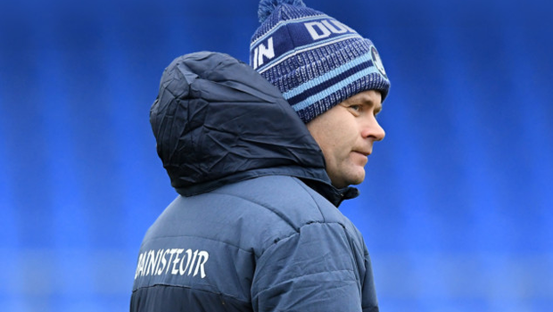 Dublin manager Dessie Farrell isfacing into a difficult task