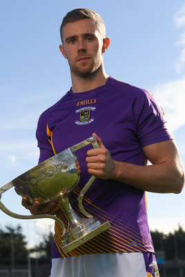 Kilmacud Crokes' Paul Mannion is pictured with the Dublin SFC Clerys Cup last year.