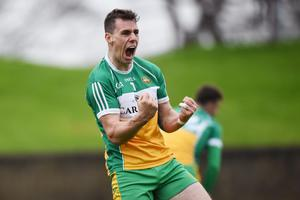 IN WITH A SHOUT: Offaly and Rhode legend Niall McNamee is hopeful of playing his part for his county later this year. Pic: Sportsfile