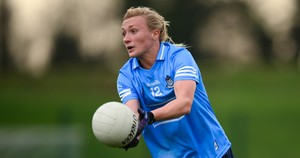 BONUS TERRITORY: Carla Rowe in action against Waterford during their Round 2 match in the TG4 All-Ireland Senior Ladies' Football Championship. Photo: SPORTSFILE