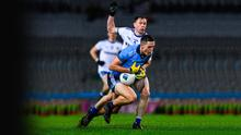 GREAT TACKLE: Dublin's Brian Fenton is robbed by Monaghan's Karl O'Connell during their Allianz Football League Division 1 Round 3 match at Croke Park on Saturday. Pic: Sportsfile.
