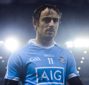 LEAVING THE STAGE: Ryan O'Dwyer leaves the field following Dublin's NHL1A defeat to Waterford in Croke Park last March.