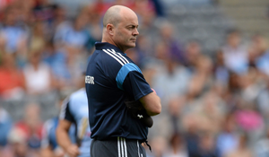 SO CLOSE: Anthony Daly's Dublin went toe-to-toe with Cork in the 2013 All-Ireland semi-final. Photo: SPORTSFILE
