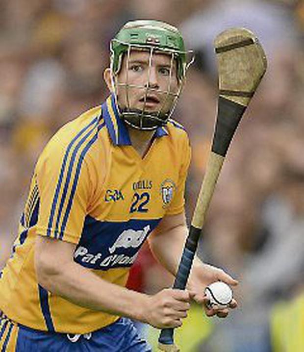 Cathal McInerney, Clare. Picture: Stephen McCarthy / SPORTSFILE