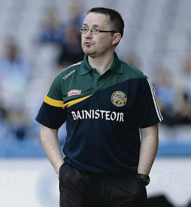 Offaly manager Emmet McDonnell. Picture: Oliver McVeigh/Sportsfile