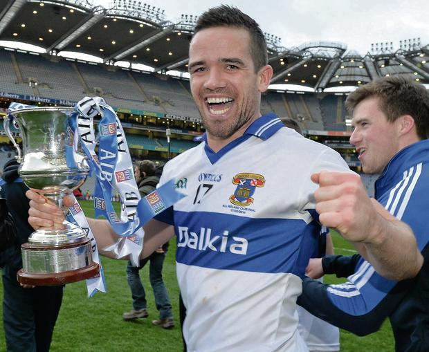 Ger Brennan, the St Vincent's captain
