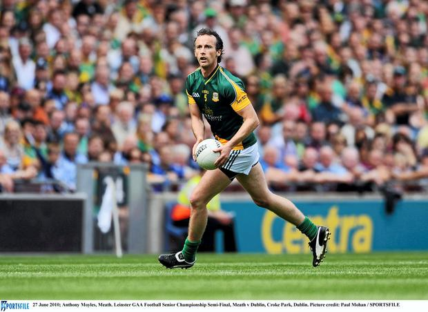 Meath's Anthony Moyles. Picture: Paul Mohan/SPORTSFILE