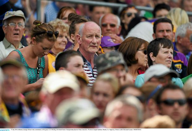 Kilkenny manager Brian Cody at the Limerick v Wexford game. Picture credit: Diarmuid Greene / SPORTSFILE